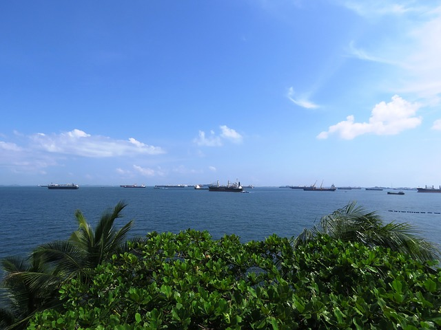 sea view from sentosa island